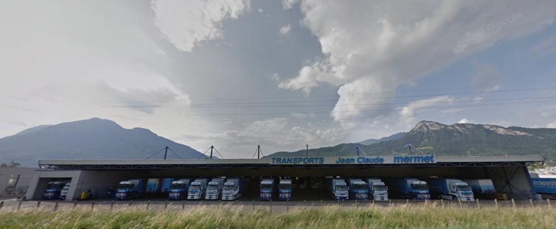Transports Mermet, Les Bleus transportent votre valeur Ajoutée