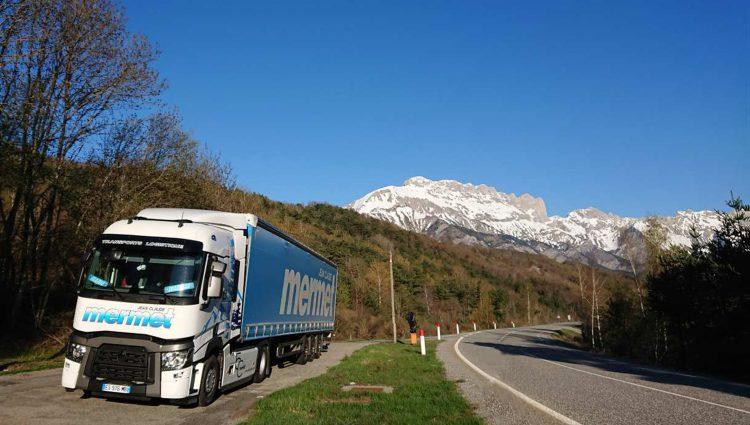 Marnaz : les transports Mermet passent à l'Euro 6