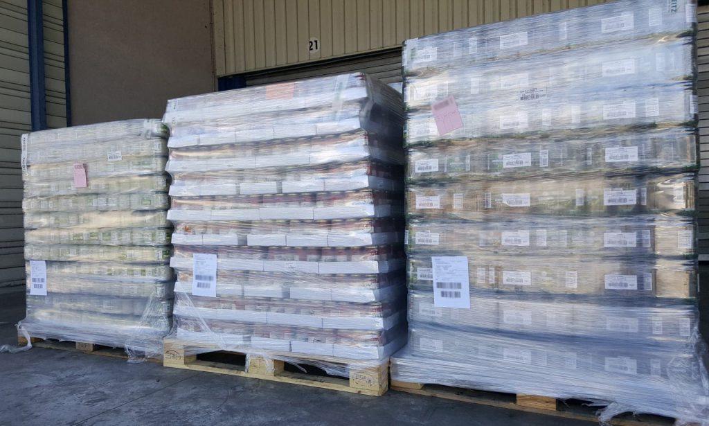 grande distribution transport