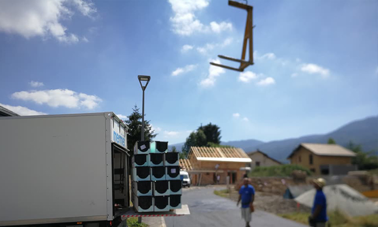Transports de materiaux