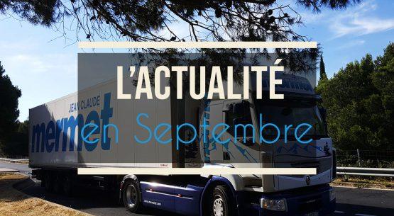 Les nouvelles de Septembre | Une PME locale, la force d'un GROUPE NATIONAL ! 🚛