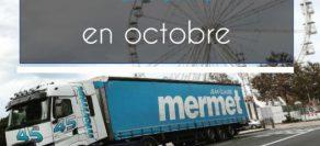 Les nouvelles du mois d'octobre
